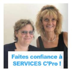 Faites confiance à Services C' Pro - Un réseau qualifié d'indépendants confirmés du secteur tertiaire, dirigé par Sandrine Cuperlier