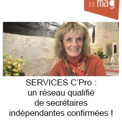 Services C' Pro : un réseau qualifié de secrétaires indépendantes confirmées !